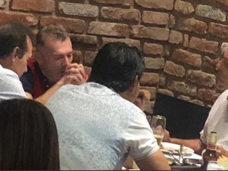 Tomás Boy captado con ex Chivas en restaurante