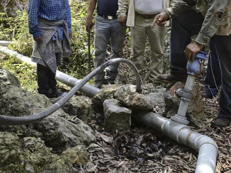 Tomas clandestinas  de agua grave problema para oomsapas