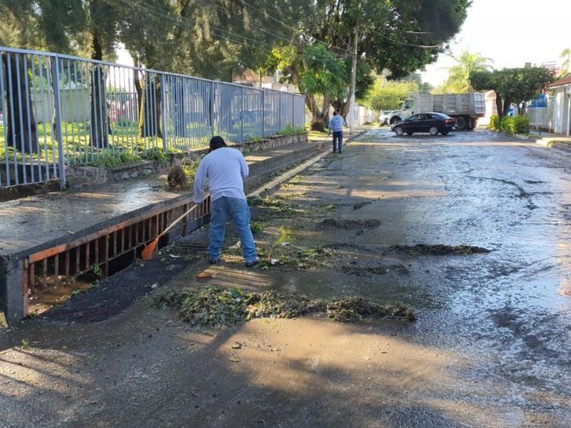 Tormenta del viernes deja afectaciones en 160 casas de Guadalajara.