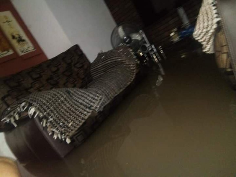 Tormenta deja inundaciones en zonas bajas de Tepic