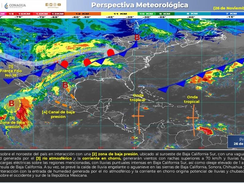 Tormenta invernal afectará a México