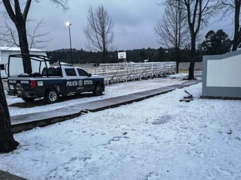 Tormenta invernal congela al norte del país