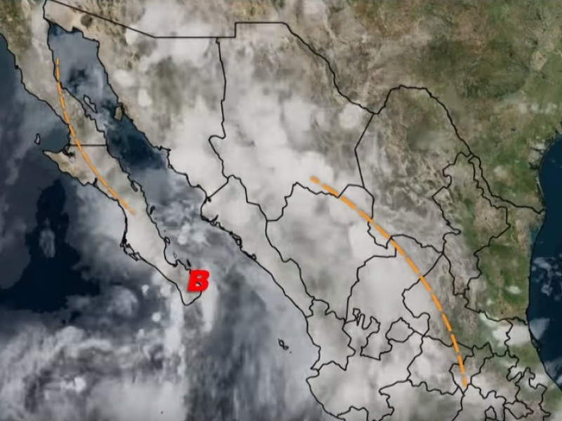 Tormentas intensas para Sinaloa, BCS, Sonora: SMN