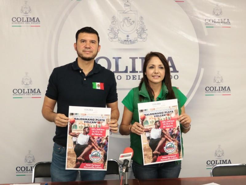 Torneo de handball internacional en Manzanillo