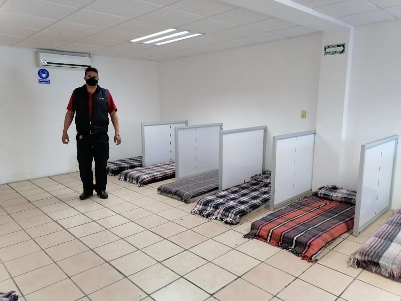 Torreón con mayor ocupación en albergues por frío