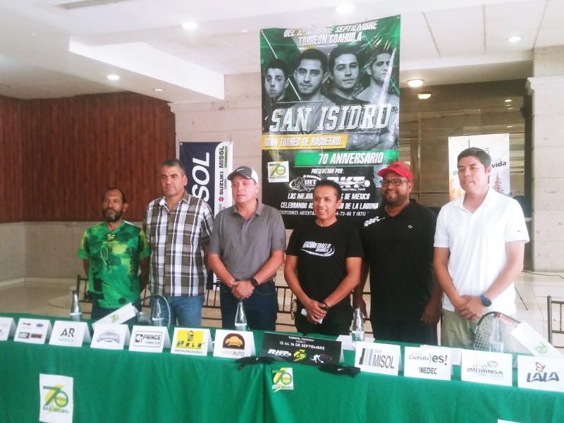 Torreón sede de torneo nacional de Raquetbol