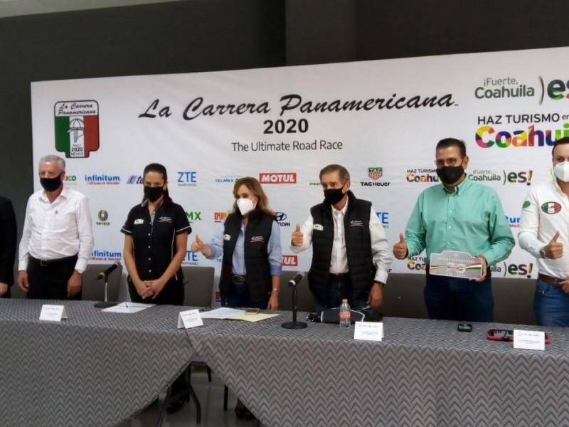 Torreón será la meta de la Carrera Panamericana