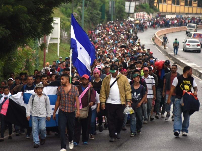Total apoyo a caravana de migrantes: SSPO