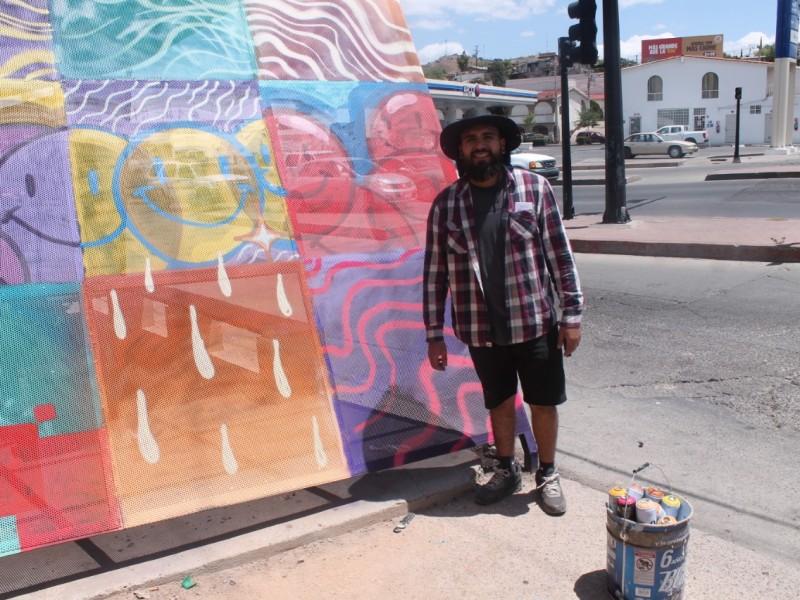 Trabaja instituto nogalense de la juventud con artistas urbanos nogalenses