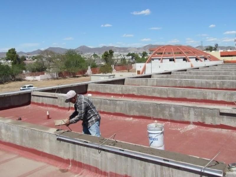 Trabaja ISIE en rehabilitación de  planteles escolares
