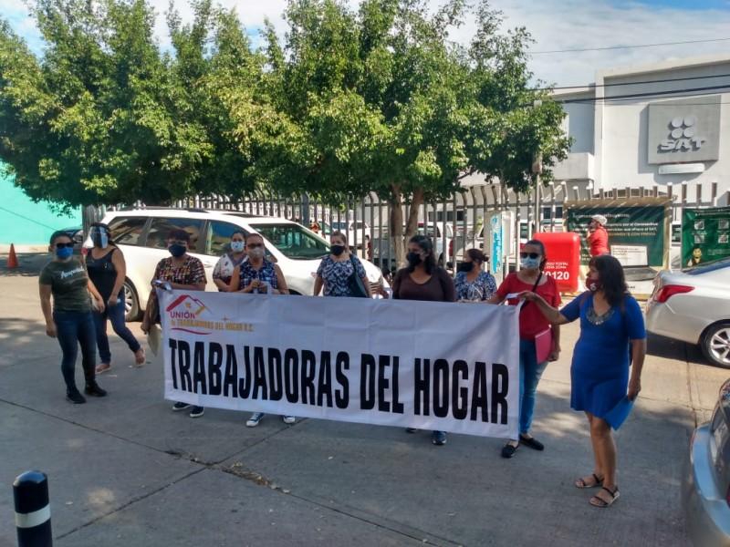Trabajadoras del hogar piden ser dadas de alta en SAT