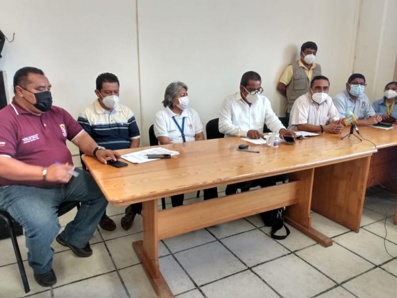 Trabajadores de salud paran labores en el istmo de Tehuantepec