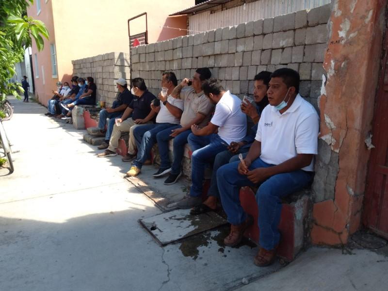 Trabajadores del Agua Potable de Juchitán paran labores