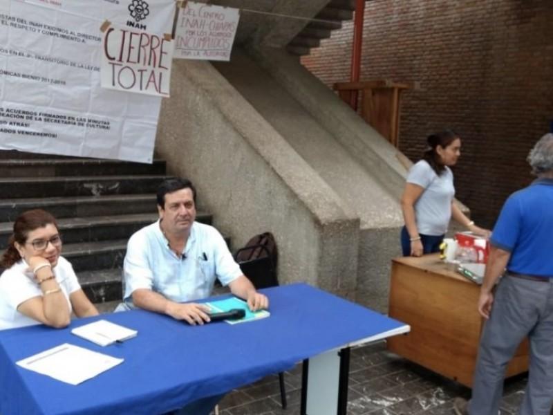 Trabajadores del INAH en Chiapas, levantan paro