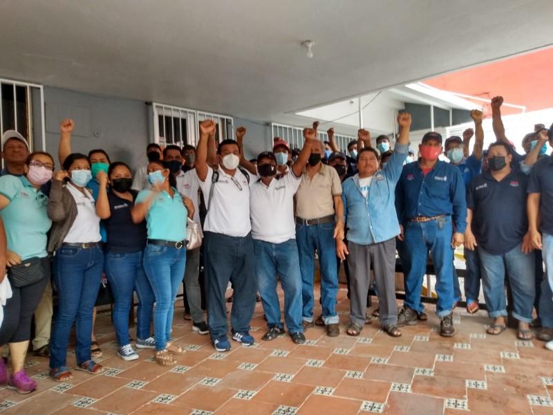 Trabajadores del SAP de Juchitán logran acuerdos con CEA