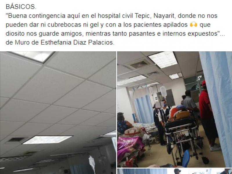 Trabajadores del sector salud exigen insumos básicos en hospitales