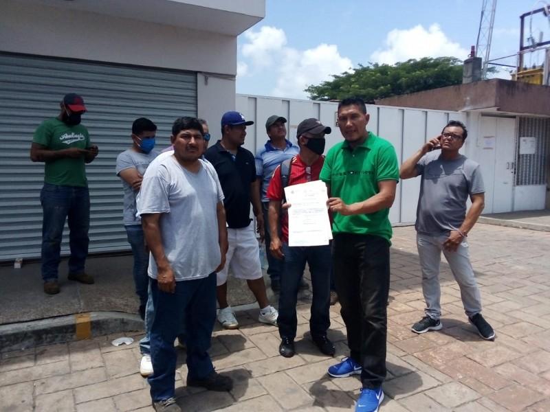 Trabajadores exigen pagos de salarios pendientes, tras ser despedidos sorpresivamente