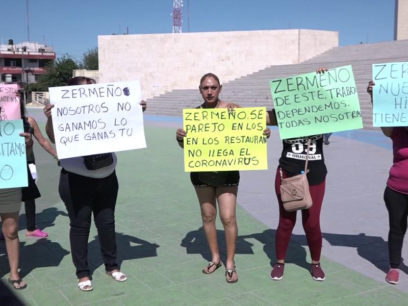 Trabajadores exigen piso parejo en cierre de bares por contingencia