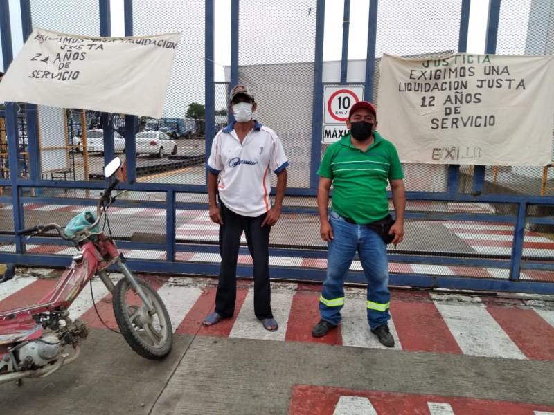 Trabajadores toman las instalaciones de la Agencia Modelo del Istmo