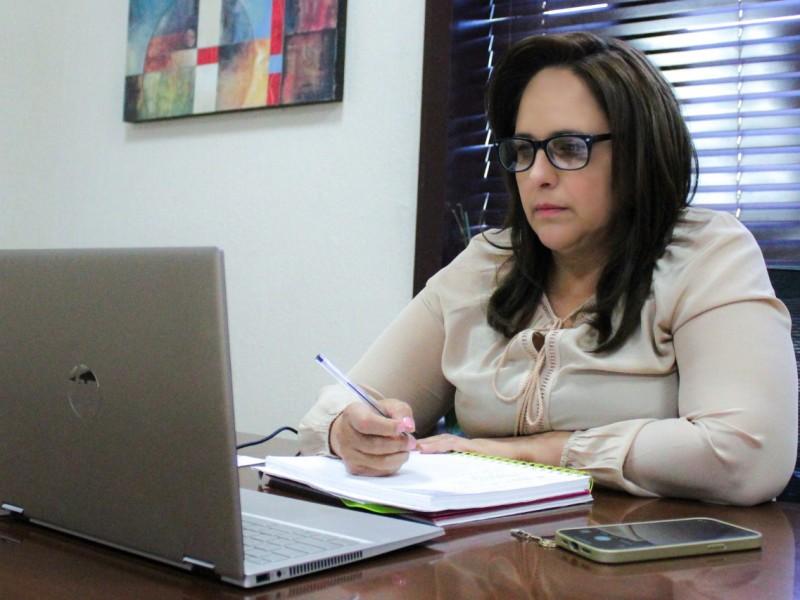 Trabajamos fuertemente para enderezar a Guaymas: Karla Córdova