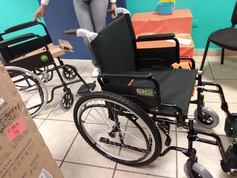 Trabajan en UBR en apoyo a discapacitados