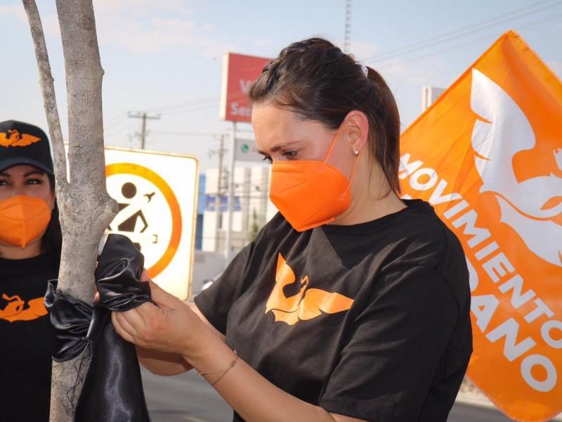 Trabajos a favor del medio ambiente propone Bety León