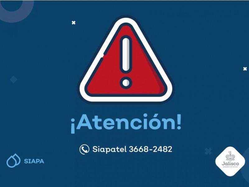 Trabajos del siapa afectarán vialidad de Av.Ángel Leaño