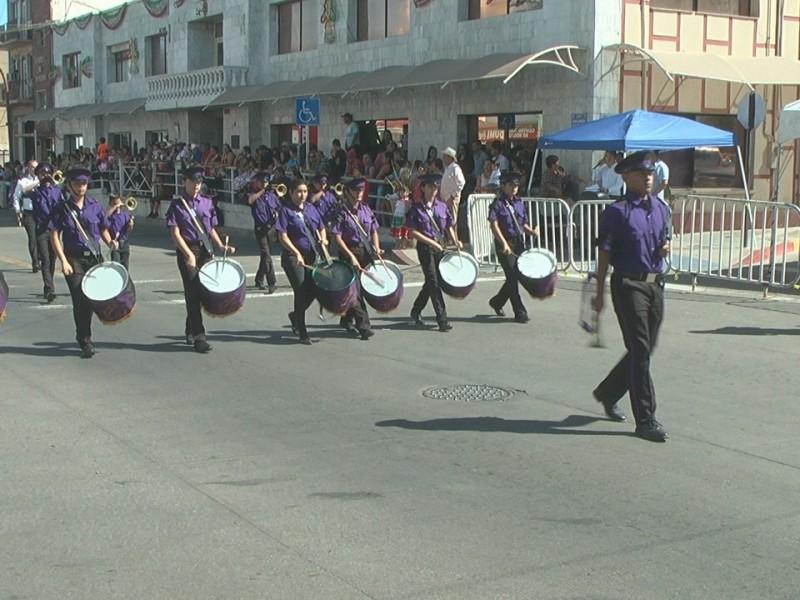 Tradicional desfile del 16 de Septiembre