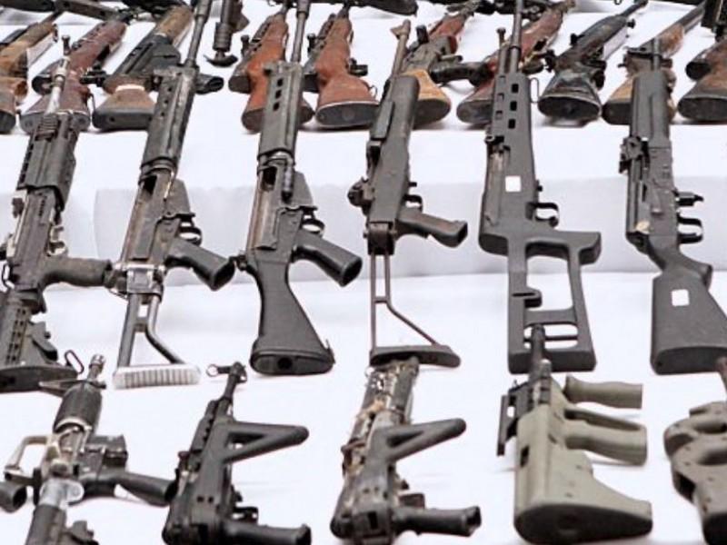 Tráfico de armas desde EU detona crímenes en México