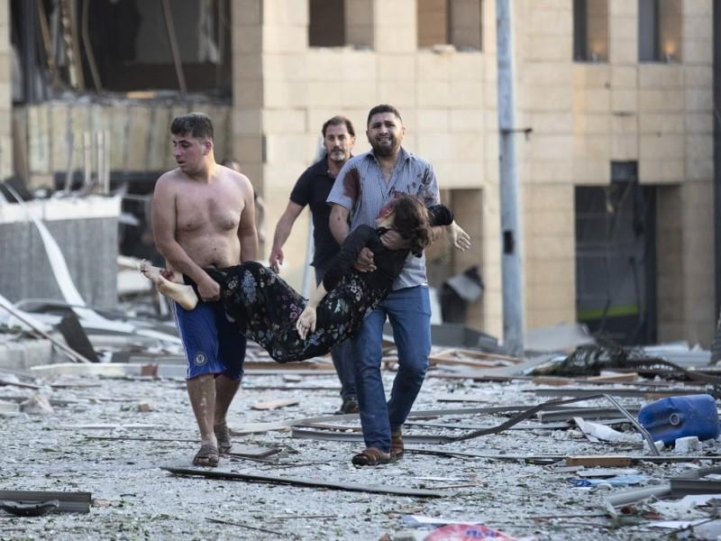 Tragedia en Beirut deja más de 100 muertos