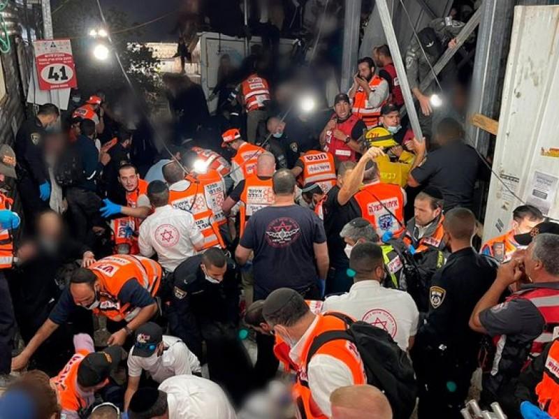 Tragedia en Israel: Al menos 38 muertos tras estampida