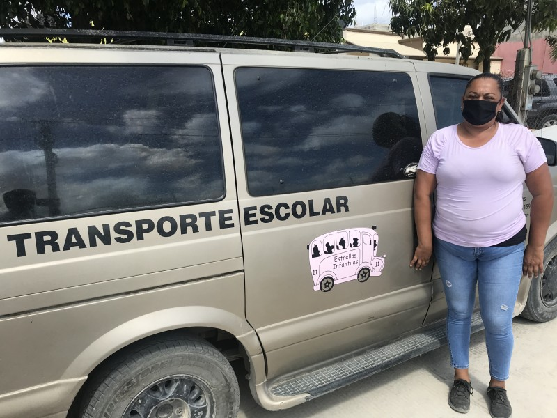 Transportadoras escolares en peligro de desaparecer