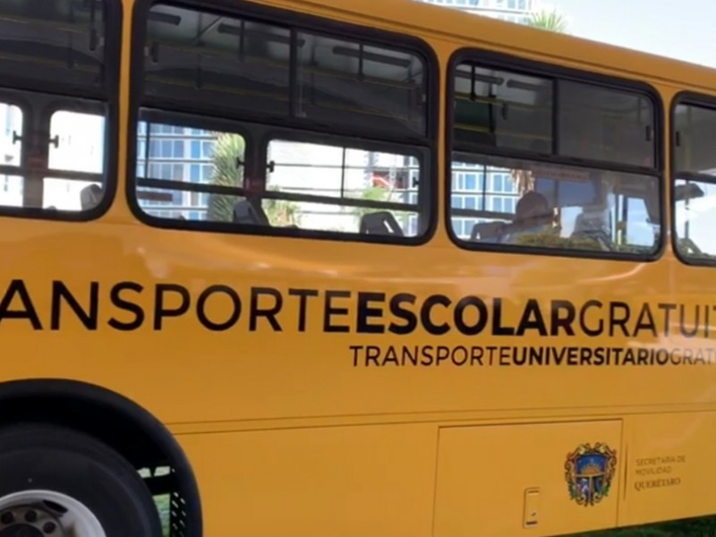 Transporte gratuito para universidades privadas