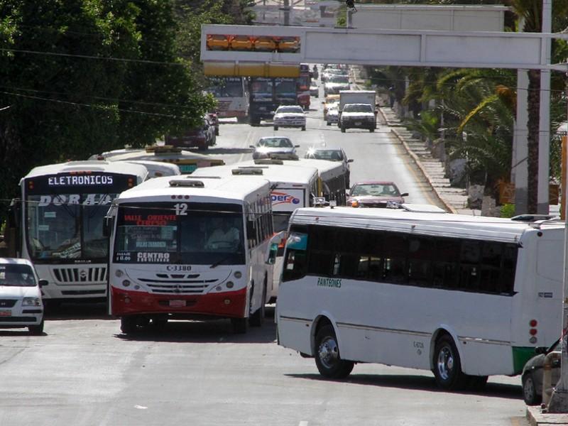 Transporte público cumple el reglamento; Ayuntamiento