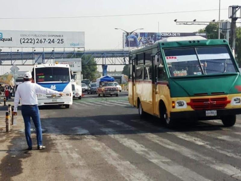 Transporte público no está conectado al C5