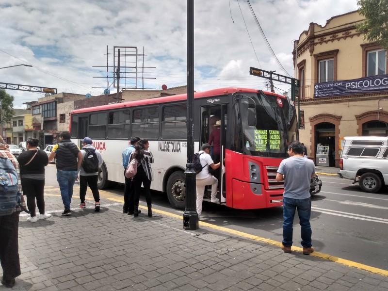 Transporte Público nuevamente beneficiado por el GEM