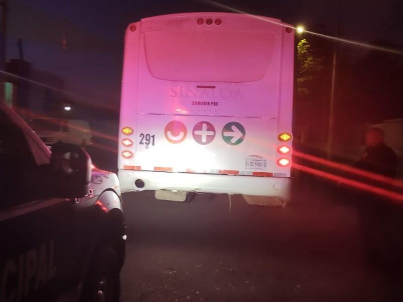 Transporte público registra dos asaltos en menos de 15 días