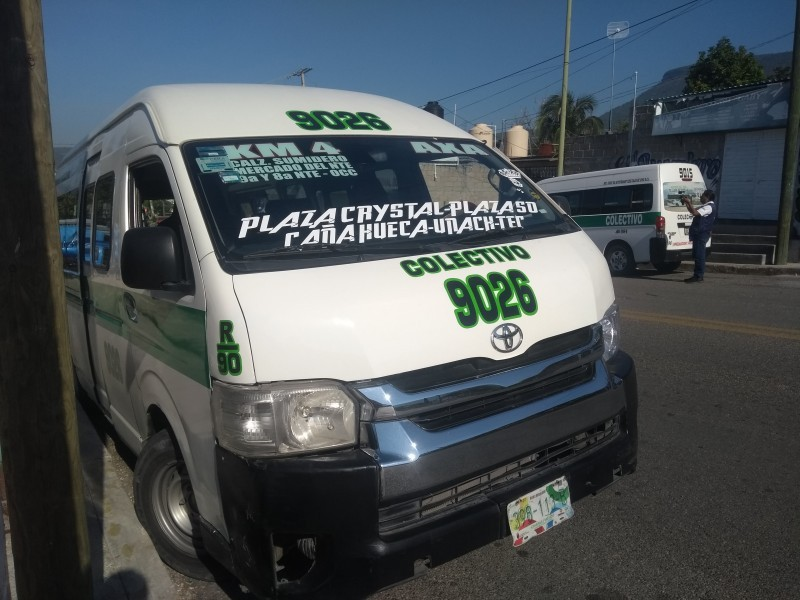 Transporte público sin medidas sanitarias; autoridades en la opacidad