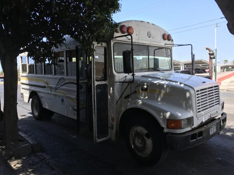 Transportistas registran pérdidas de 1.5MDP