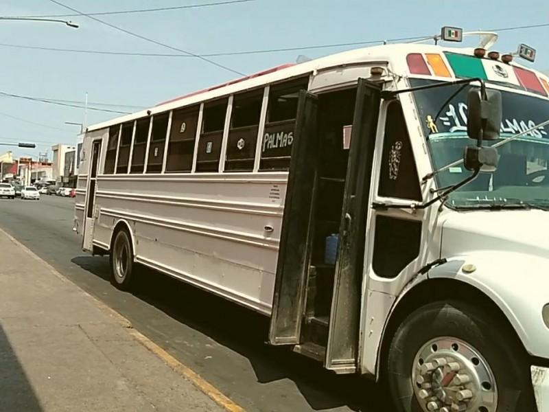 Transporte urbano, caro y precario en Guaymas