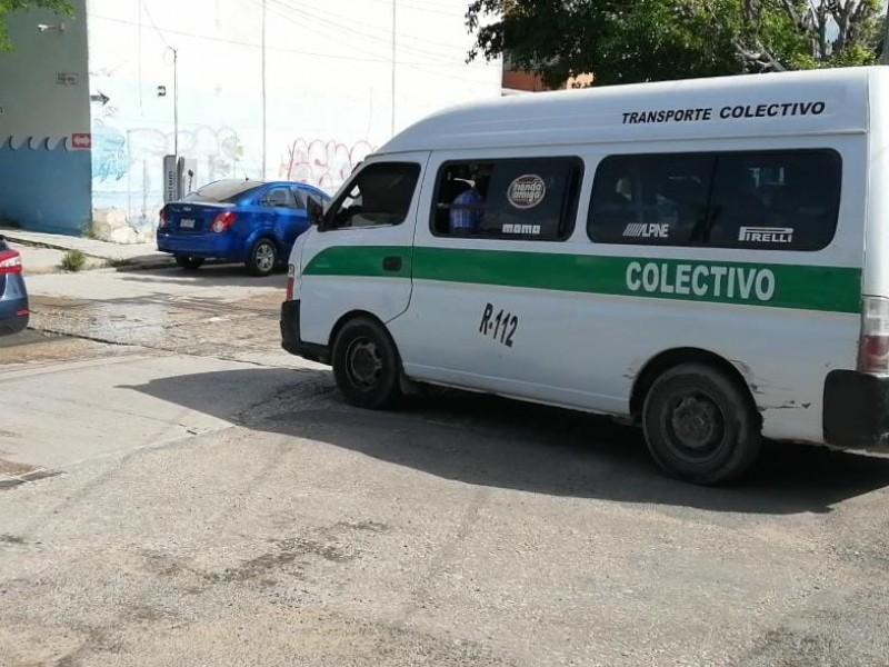 Transportistas amagan con realizar paro indefinido