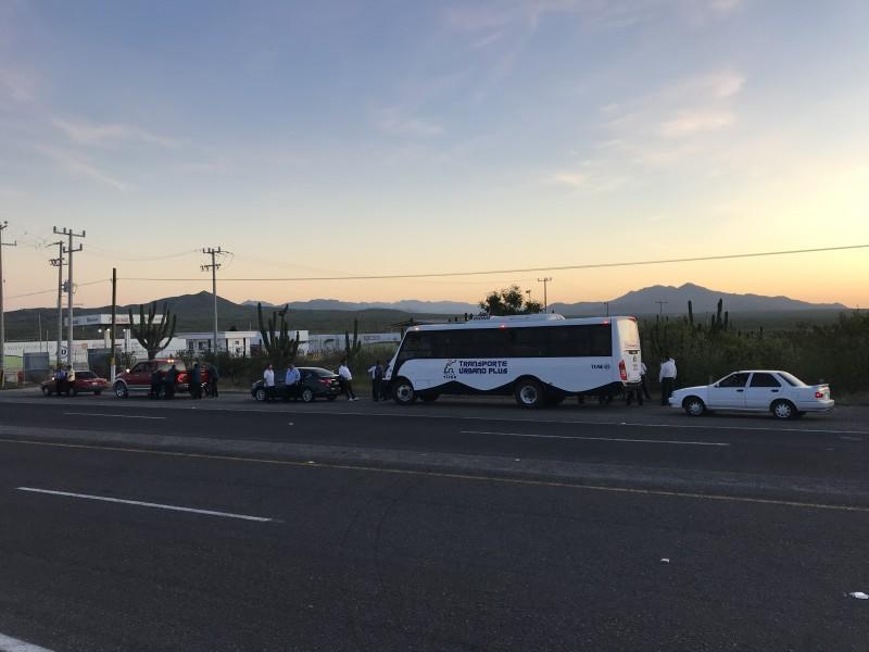 Transportistas de Los Cabos se manifiestan
