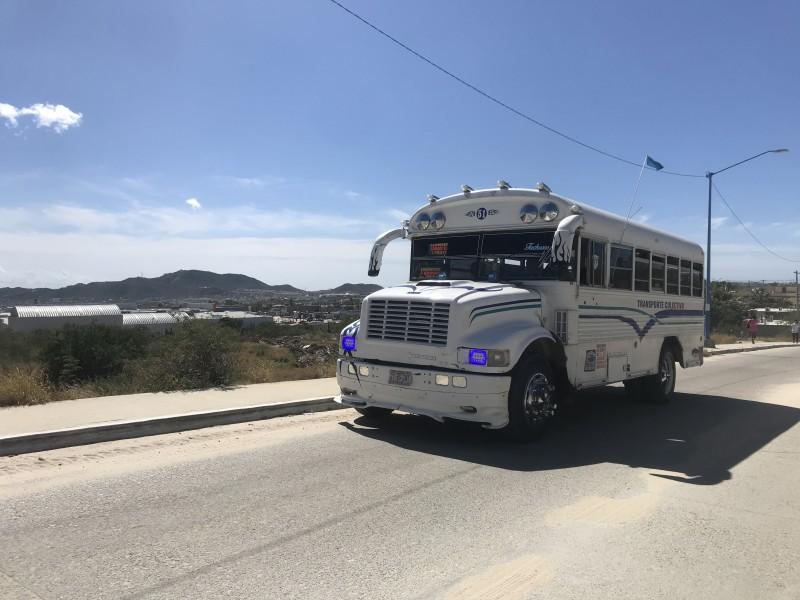 Transportistas desconocen cuál es el déficit del transporte público