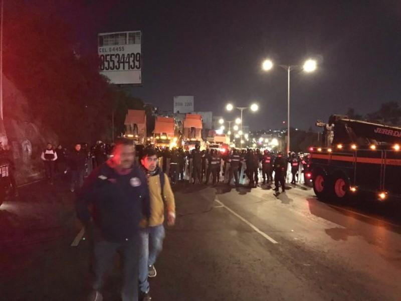 Transportistas desquician la CDMX