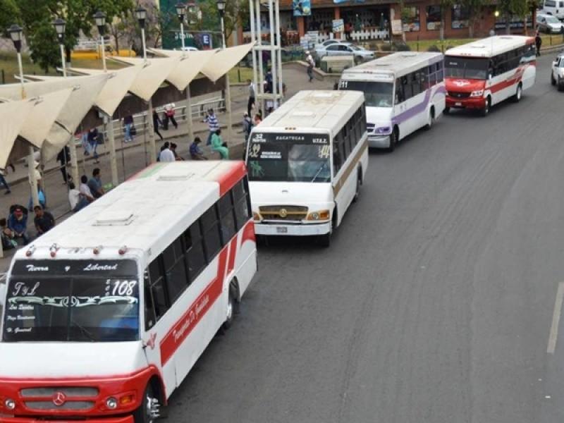 Transportistas inconformes sobre el número de aforo restringido en rutas