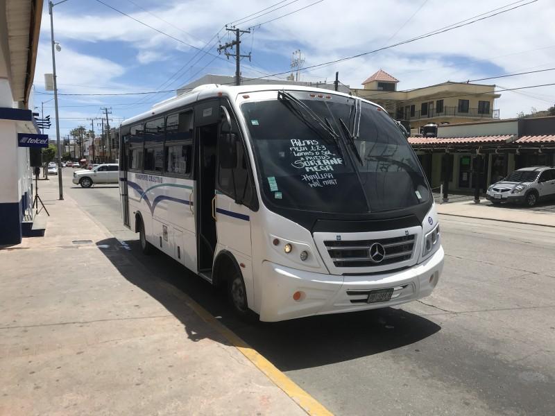 Transportistas reducen en un 40% sus unidades debido al Covid-19