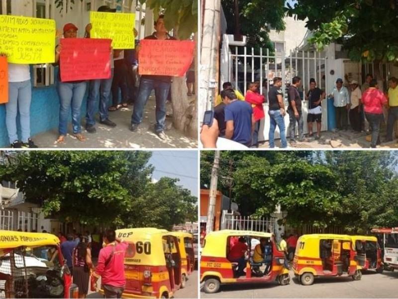 Tras 10 horas, liberan a trabajadores de MEGACABLE