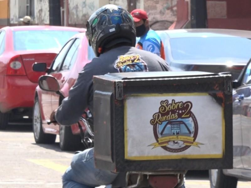 📹Tras ataque con explosivo ha disminuido servicio de moto envío