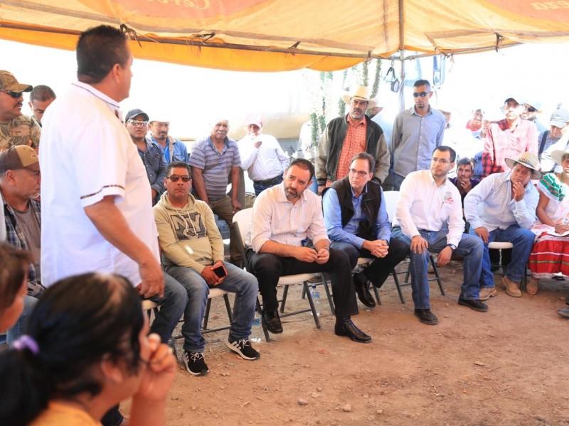 Tras bloqueo de Peñasquito dialogan autoridades con manifestantes