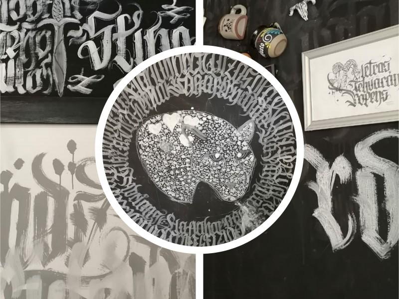 Tras festival urbano proyectan marca de lettering de Tehuacán